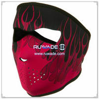 Neoprene pink blaze full face mask -129