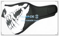 Neoprene skull half face mask -157