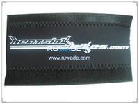 Neoprene wrap bicycle chainstay protector -017