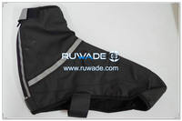 PU waterproof cycling shoe cover -015