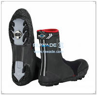 Neoprene rubber cycling shoe cover -016