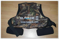 Camouflage neoprene hunting vest -001