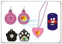 Silicone dog ID tag -017
