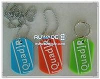 Silicone dog ID tag -018