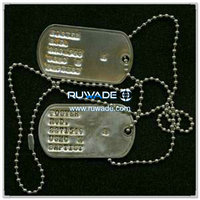 Stainless steel dog tag -030