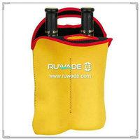 Two/2 pack neoprene wine bottle cooler bag tote -014