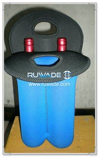 Cooler bolso bolso de dos/2 pack neopreno vino botella -024