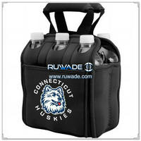 Six/6 pack neoprene water bottle cooler bag -003