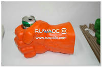 Foam hockey glove can cooler holder -015-08