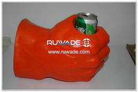 Foam hockey glove can cooler holder -015-09