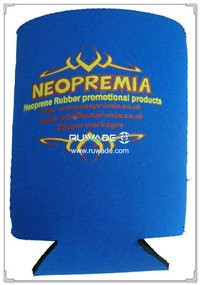 Neoprene foldable can holder -017