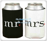 Neoprene collapse can cooler holder koozie -029