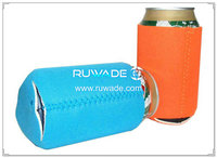 Neoprene collapsible can cooler holder insulator-041