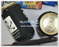 Neoprene collapsible can cooler -069