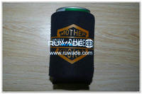 Neoprene collapse foldable can cooler koozie -085