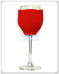 Neoprene wine glass koozie -001
