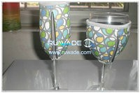 Neoprene wine glass cooler -007