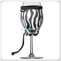 Neoprene wine glass cooler -011