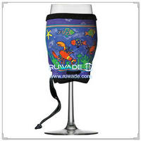 Neoprene wine glass cooler -015
