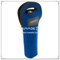 Neoprene red wine bottle cooler holder/wine tote insulator -020