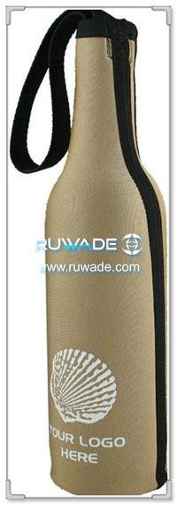 ネオプレン赤ワインのボトル クーラー ホルダー/ワイン トートバッグ絶縁 -024