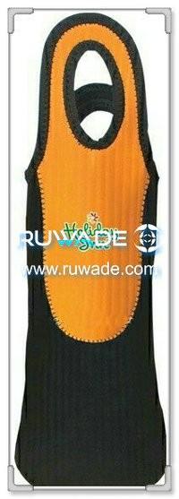 Neoprene red wine bottle cooler holder/wine tote insulator -028