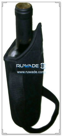 Neoprene red wine bottle holder -032