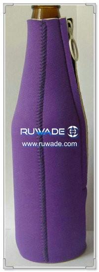 Neoprene beer/beverage bottle cooler holder insulator -020