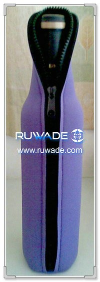 In neoprene birra/bevande bottle cooler supporto isolante -076
