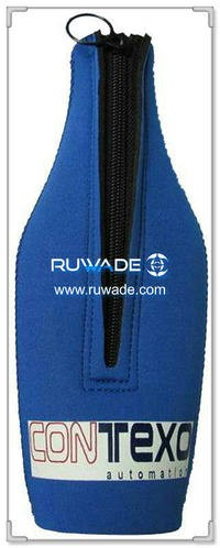 In neoprene birra/bevande bottle cooler supporto isolante -080
