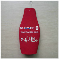Neoprene beer beverage bottle holder -095