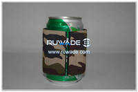 Neoprene slap can cooler holder koozie -009-4