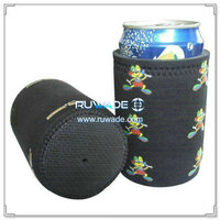 Neoprene stubby can cooler glued bottom -075