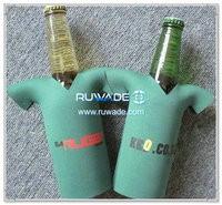 in neoprene t-shirt birra bottle cooler supporto isolante -002