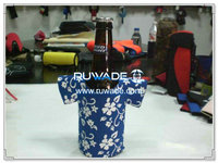 in neoprene t-shirt birra bottle cooler supporto isolante -004