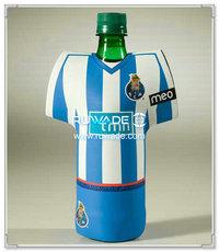 neoprene t-shirt bottle cooler holder insulator -019