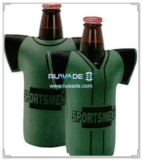 isolador refrigerador do titular de neoprene camiseta garrafa -056