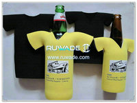 neoprene t-shirt bottle cooler holder insulator -061
