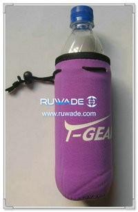 Neoprene water/beverage bottle cooler holder insulator -057