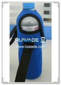 Neoprene water/beverage bottle cooler holder insulator -060