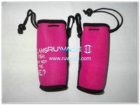 Neoprene water/beverage bottle cooler holder insulator -070