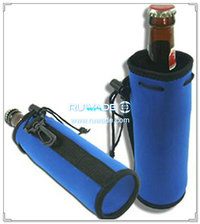 Neoprene water/beverage bottle cooler holder insulator -074