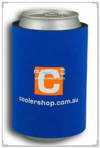 No/without bottom neoprene wrap can cooler holder koozie -001