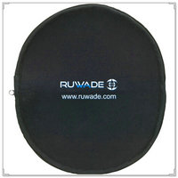 Travel zippered neoprene mouse pad -022
