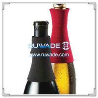 Neoprene wine drip stopper ring collar -001