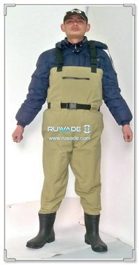 Waterproof breathable chest fishing wader -008