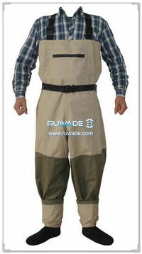 Waterproof breathable fly fishing wader -010