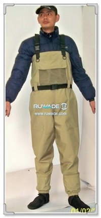 Waterproof breathable fly fishing wader -011