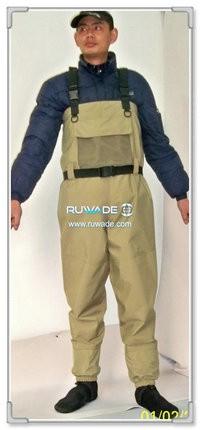 Waterproof breathable fly fishing wader -011