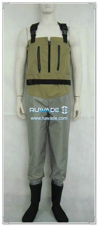Waterproof breathable chest fishing wader -013